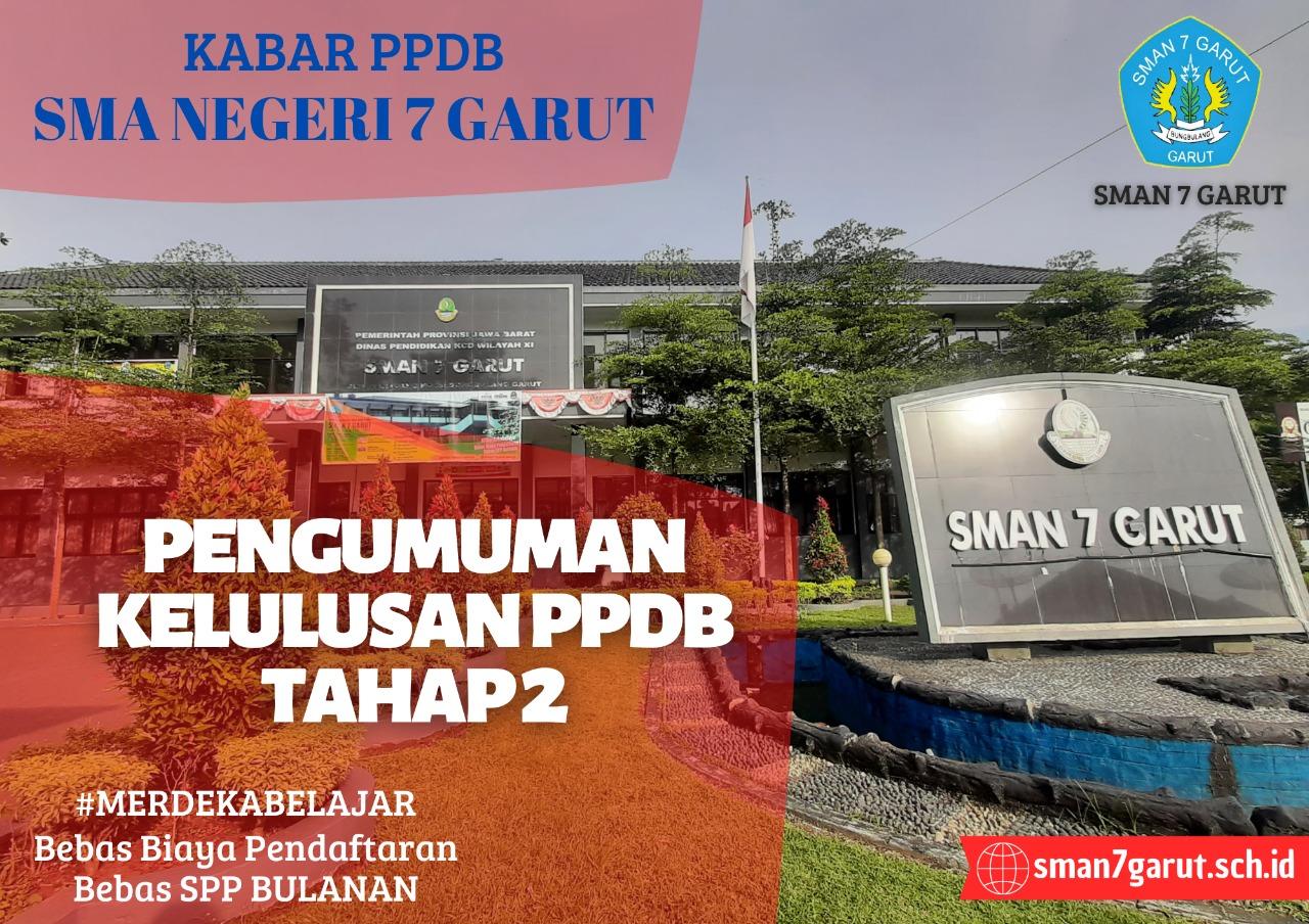 INFORMASI KELULUSAN PENERIMAAN PESERTA DIDIK BARU (PPDB) TAHAP II TAHUN 2021-2022